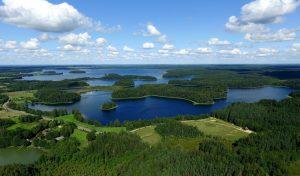 Platelių ežerynas Žemaitijos nacionaliniame parke